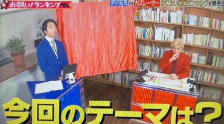2020/1/8放送<br>テレビ朝日「お願いランキング」の撮影