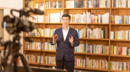 ㈱集中力 森健次朗 様<br>セミナー動画撮影・編集